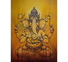 Ganesha darshan Photographic Print
