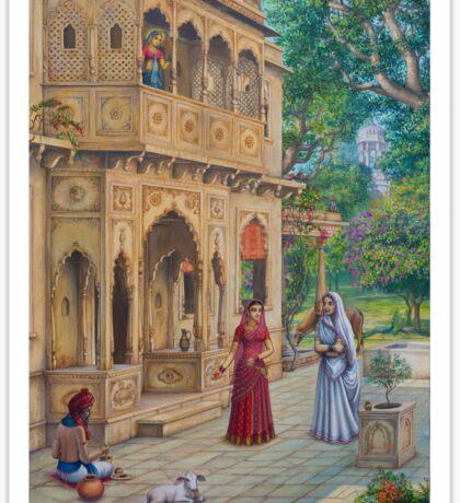 Purnamasi at Kirtidas house Sticker