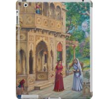 Purnamasi at Kirtidas house iPad Case/Skin
