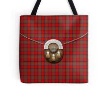 Royal Stewart Tartan And Sporran Tote Bag