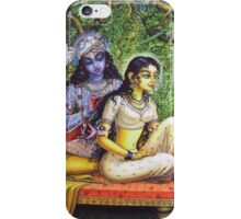 Shringar lila iPhone Case/Skin