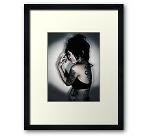 Jess Attack Framed Print