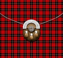 Clan Ramsay Tartan And Sporran by thecelticflame