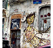 graffiti girl Photographic Print