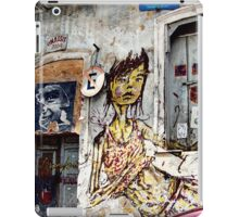 graffiti girl iPad Case/Skin