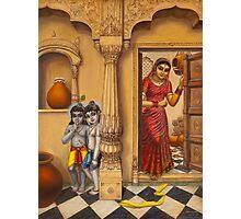 Krisha makhan chor Photographic Print