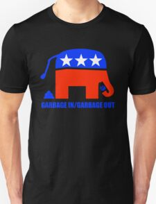 Garbage in/Garbage Out Politics Unisex T-Shirt
