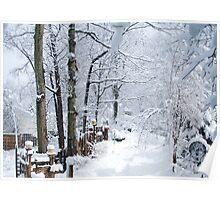 Winter Wondering Poster