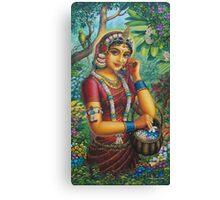 Radha Canvas Print