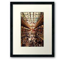 Strand Arcade Framed Print