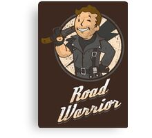 Warrior of the Road Canvas Print