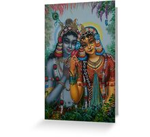 Radha Kunjabihari Greeting Card