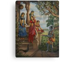 Krishna as shaiva sanyasi Canvas Print