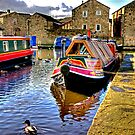 Skipton Canal Basin #2 by Trevor Kersley