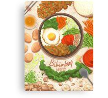 Bibimbap Canvas Print
