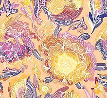 Magic Floral Pattern by kisikoida
