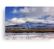 The Beauty of the Dales in Winter Canvas Print
