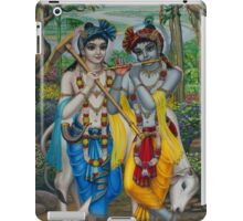 Krishna and Balaram iPad Case/Skin