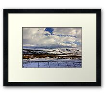 Buckden Pike Framed Print
