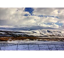 Buckden Pike Photographic Print