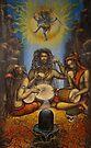 Dance of Shiva by Vrindavan Das