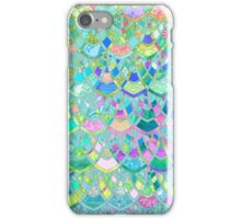 Art Deco Watercolor Patchwork Pattern 1 iPhone Case/Skin