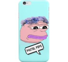Pastel Pepe iPhone Case/Skin