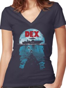 Dex Women's Fitted V-Neck T-Shirt