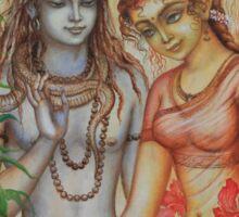 Shiva and Parvati Sticker
