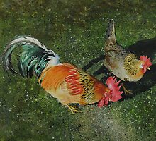 Cock & Hen by Graham Clark