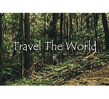Travel The World Photographic Print