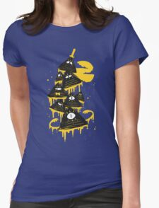 """""""Night Parade"""" Womens Fitted T-Shirt"""