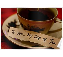 Close-up: To You ... My Cup of Tea Poster