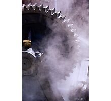 Steam Driven Photographic Print