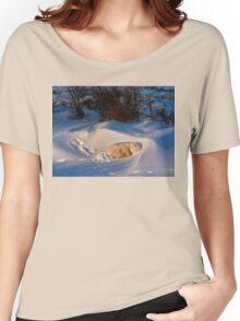Yoga Bear savasana Women's Relaxed Fit T-Shirt