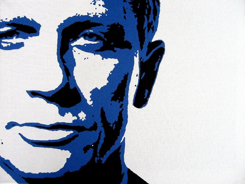 Daniel Craig by Dan Carman