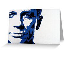 Daniel Craig Greeting Card