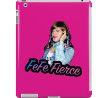 FeFe Fierce  iPad Case/Skin