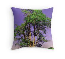WV tree Throw Pillow