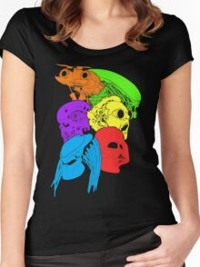 80's Sci-Fi Movies Women's Fitted Scoop T-Shirt