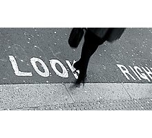 """Look Right!"" Photographic Print"