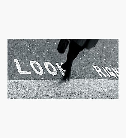 """""""Look Right!"""" Photographic Print"""