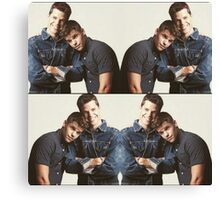 aiden and ethan Canvas Print