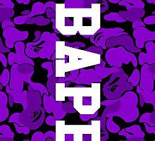 Purple Bape Camo by bradjordan412