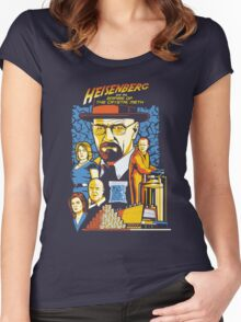 Heisenberg and the Empire of the Crystal Meth Women's Fitted Scoop T-Shirt