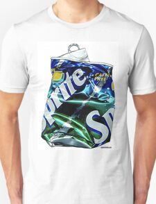 Sprite,Crushed Pop Art T-Shirt