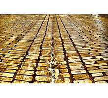 paving stones Photographic Print