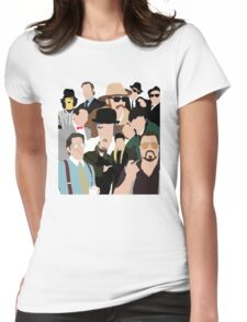 Cult Cinema Womens Fitted T-Shirt