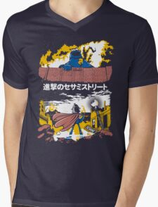 Attack on S. Street Mens V-Neck T-Shirt