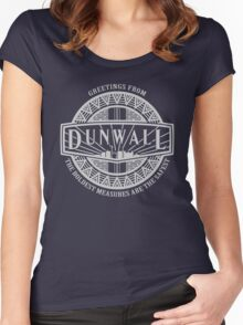Greetings from Dunwall Women's Fitted Scoop T-Shirt